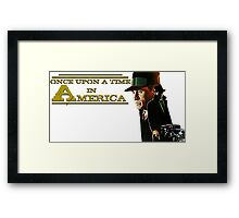 Once upon a time in America - Film Vintage Framed Print
