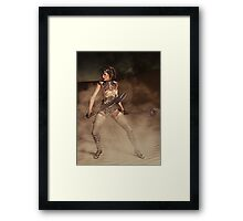 The Outlander Framed Print