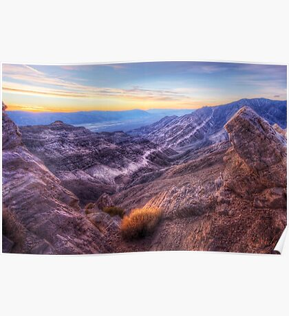 Sunrise at Aguereberry Point Poster