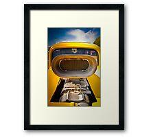 SuperCharged Framed Print