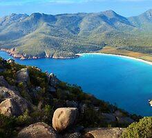 Wineglass Bay, Freycinet National Park, Tasmania by Michael Boniwell