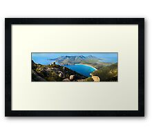 Wineglass Bay, Freycinet National Park, Tasmania Framed Print