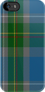 00133 Connecticut District Tartan Fabric Print Iphone Case by Detnecs2013