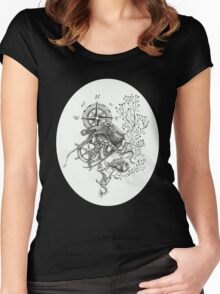 Octopus's garden Women's Fitted Scoop T-Shirt