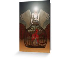 Lock Up The Devil Greeting Card
