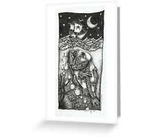 Monster from the deep Greeting Card
