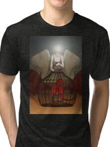 Lock Up The Devil Tri-blend T-Shirt
