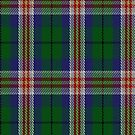 00140 Kentucky District Tartan Fabric Print Iphone Case by Detnecs2013