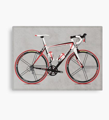 Race Bike Canvas Print