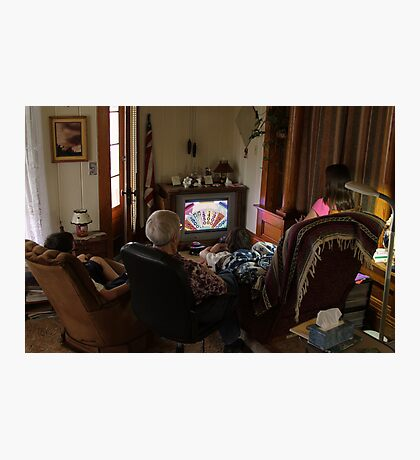 Small Town America ~ the TV hour Photographic Print
