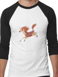 Unicorn  Men's Baseball ¾ T-Shirt