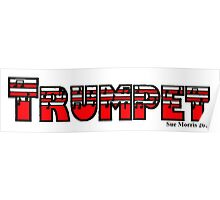 Trumpet Red I Poster