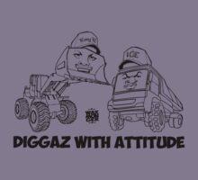 Diggaz With Attitude Kids Tee