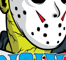 The original zombie (Friday 13th) Sticker