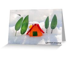 Winterdreams Greeting Card