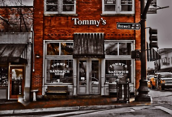 Tommy's Sandwich Shop by Scott Mitchell