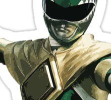Might Morphin Power Rangers - Green Ranger Sticker