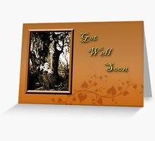 Get Well Soon Willow Tree Greeting Card