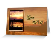 Get Well Pier Greeting Card