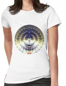 Psychedelic Sun Womens Fitted T-Shirt