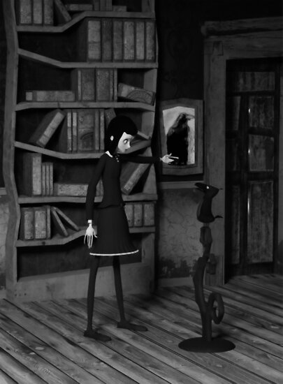 Lenore and The Raven by Liam Liberty