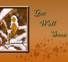 Get Well Soon Leaf by jkartlife