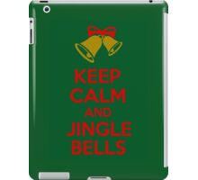 Keep Calm And Jingle Bells iPad Case/Skin