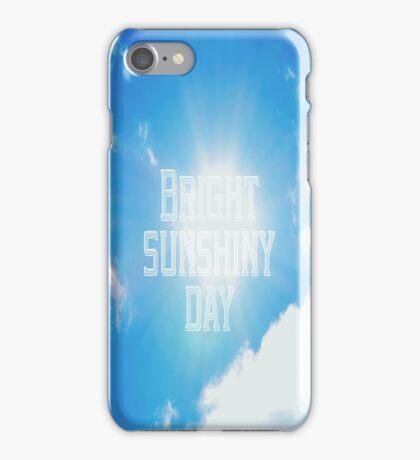 Sunshiny Day iPhone Case/Skin