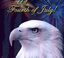 Fourth Of July Eagle by jkartlife