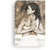 Adriana, Yoga Metal Print