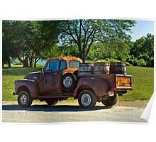 "1954 GMC Jack Daniels Pickup Truck ""Party Time"" Poster"