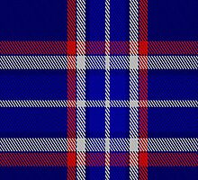 00154 North Carolina District Tartan Fabric Print Iphone Case by Detnecs2013