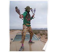 Yoda Juggler Poster