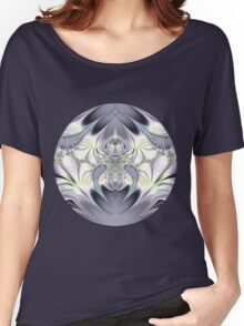 Purple Leaves Women's Relaxed Fit T-Shirt