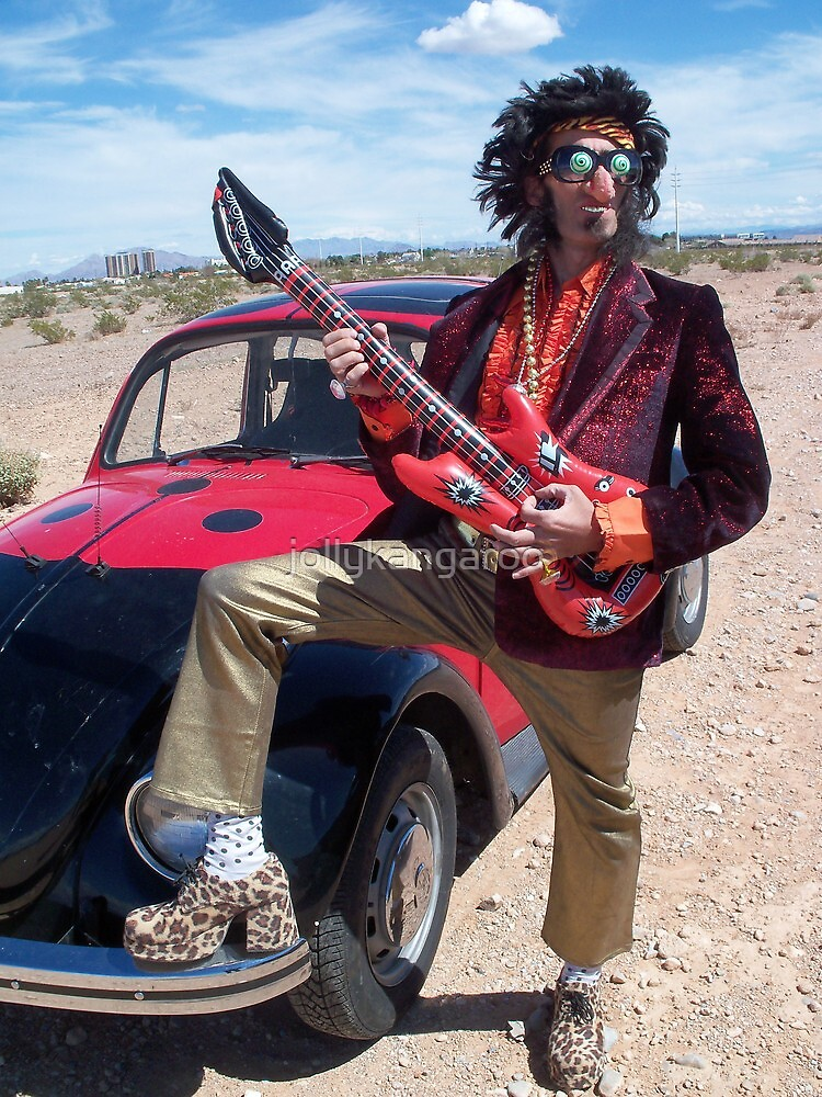 Rock Star Man by jollykangaroo