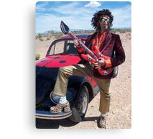 Rock Star Man Canvas Print