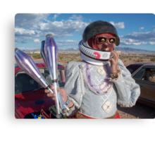 Astronaut Juggler Canvas Print