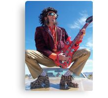 Rock Star King Canvas Print