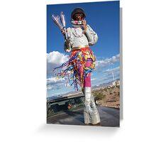Astro Jugglernaut Greeting Card