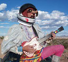 Astro Guitar Hero by jollykangaroo