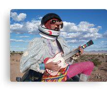 Astro Guitar Hero Canvas Print