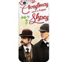 Sherlock Special Christmas Card iPhone Case/Skin