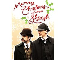 Sherlock Special Christmas Card Photographic Print