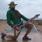 Yoda Air Guitar Hero by jollykangaroo