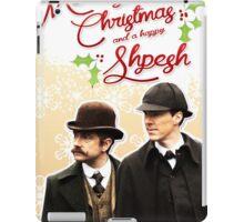 Sherlock Special Christmas Card iPad Case/Skin