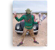 Yoda Peace Juggler Canvas Print