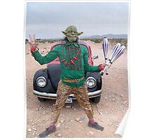 Yoda Peace Juggler Poster