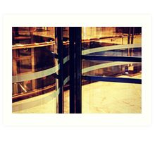 Curvy door Art Print