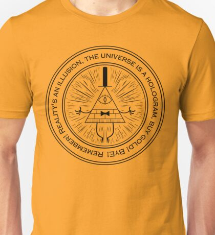Gravity Falls Wheel Unisex T-Shirt