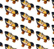 Retro Roller Skate by mrdoomits